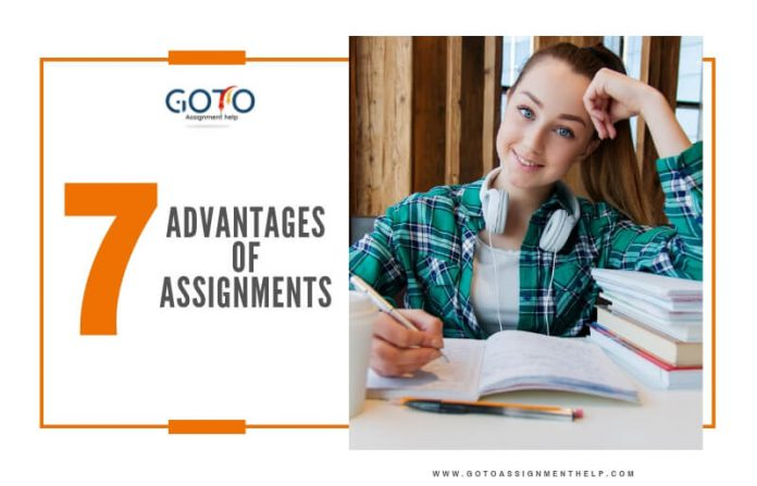 advanatges of assignments, online assignment help