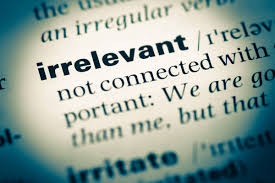 Irrelevant | 5 Things You Must Stop Doing While Writing a College Assignment