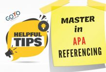 APA referencing tips, apa referencing guide