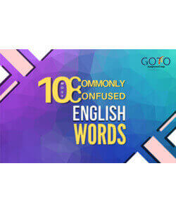 10 Most Commonly Confused Words in English | GotoAssignmentHelp